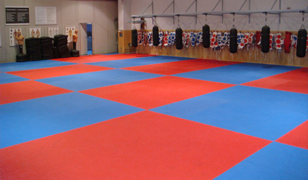 rcmp training gym puzzle mats